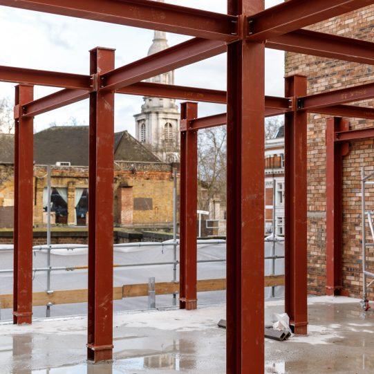Steel Mezzanine Floor Supply & Installation | A13 Steel London