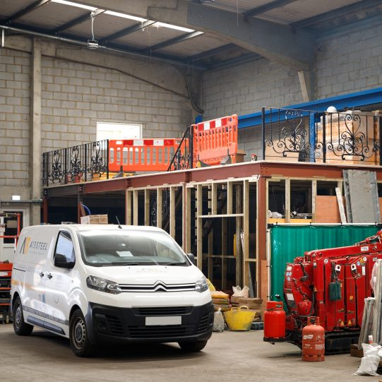 Steel Mezzanine Floor Supply & Installation | A13 Steel London