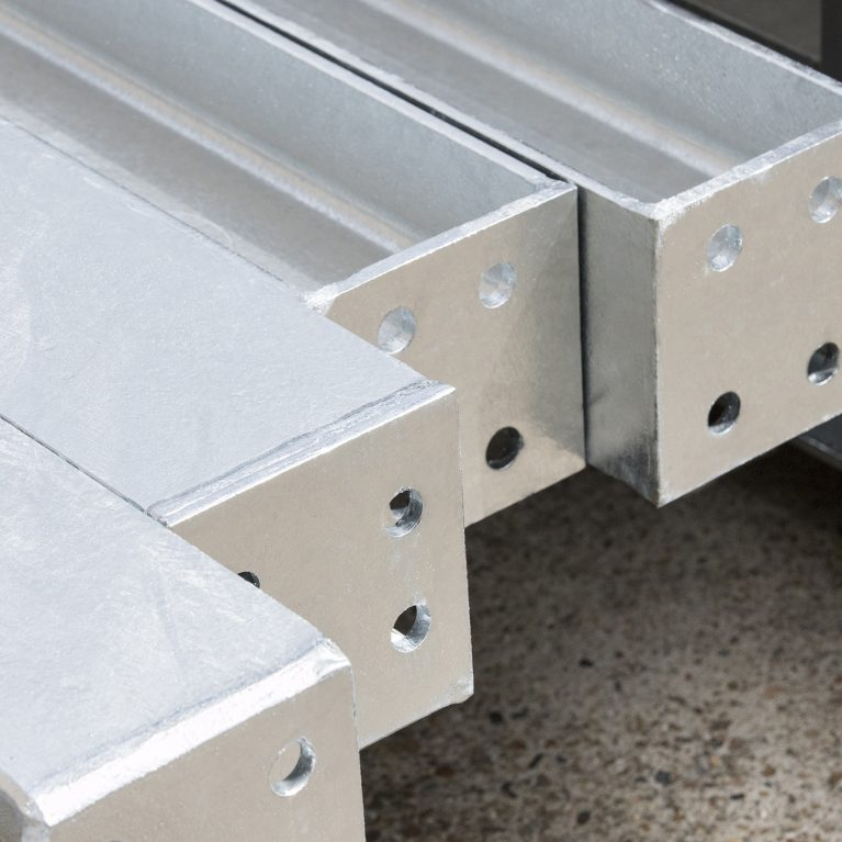 Steel fabrication services | Steelwork Punching | A13 Steel